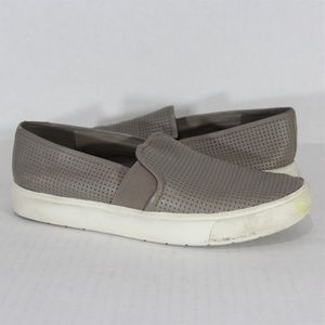 Vince Blair Perforated Sneakers Womens 5.5 A321